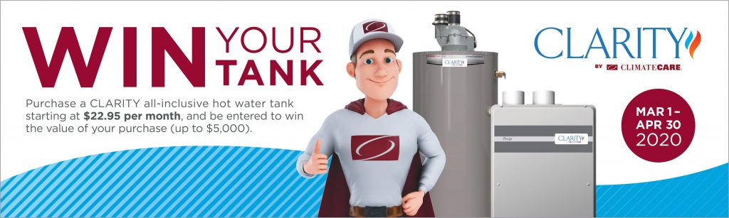 Win your water tank